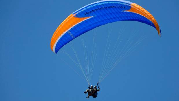 The NZ paragliding champs are being held around the Tasman region next week.