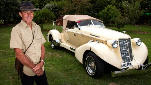 Mike Brouwers is the proud owner of a car used in Indiana Jones: The Temple of Doom (1984).
