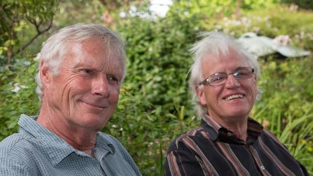 Dr Richard McKenzie (left) and Jeremy Burke, developed the free phone app that warns users how long they can spend in ...