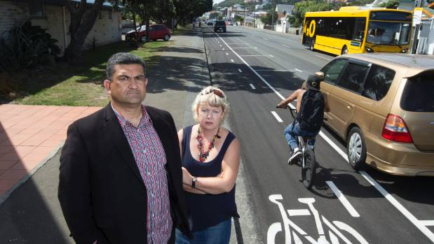 Wellington City councillor Paul Eagle and Island Bay Residents Association president Vicki Greco say the backlash over ...