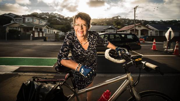 Wellington Mayor Celia Wade-Brown has copped plenty of heat over the Island Bay cycleway, but firmly believes it will be ...