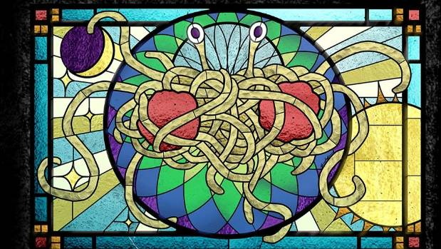The Church of the Flying Spaghetti Monster in New Zealand has its first marriage celebrant.