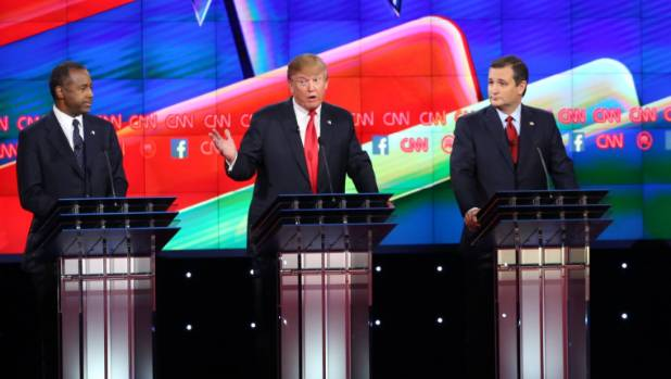 """republican presidential debate in america """"obviously democrats are losing votes and republicans aren't really  left:  voters cast their votes during the us presidential election in."""