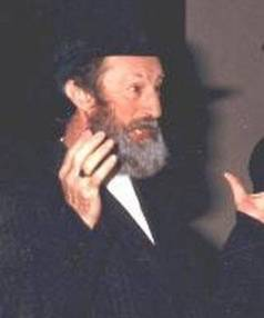 Terence Burtenshaw in 1986 production Fiddler on the Roof.