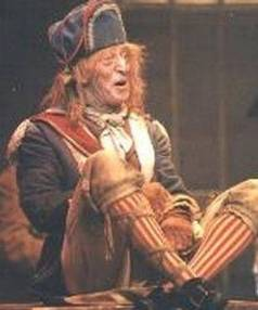 Terence Burtenshaw as Thenardier in Les Miserables in 1995.