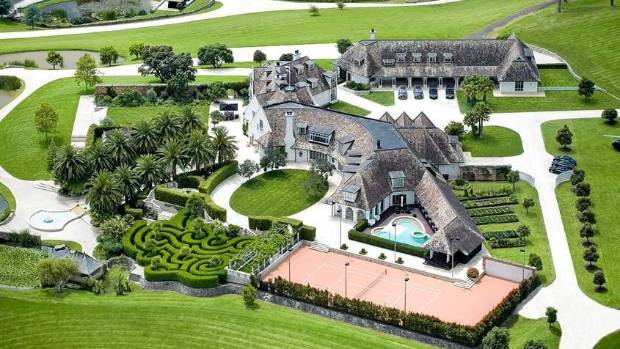 The famous luxurios Dotcom mansion has been sold for an undisclosed price, however industry insiders expected it to be ...