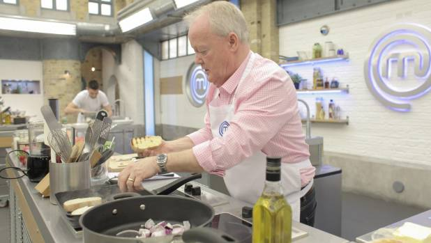 Keith Chegwin cooks up a storm.