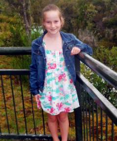 Grace Yeats shortly before a rare brain illness left her unable to move or talk, just after her 10th birthday in 2012.