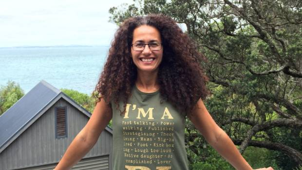Pacific poet and Waiheke Island resident Dr Selina Tusitala Marsh is getting ready to recite for the Queen.
