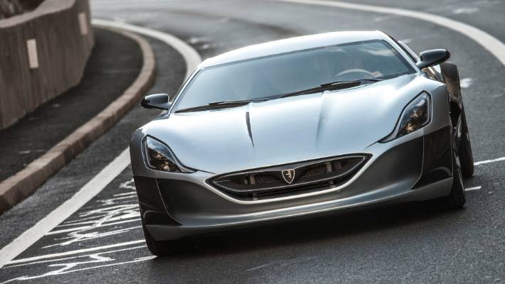 What Rimac Automobili S All Wheel Drive Electric Supercar Normally Looks