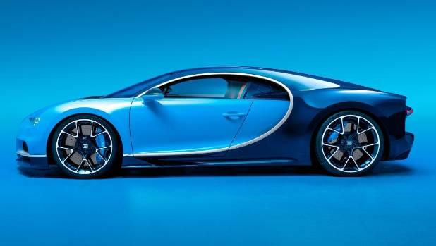 The NZ$4 Million Bugatti Chiron.