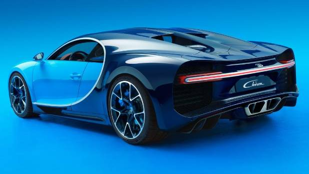 Bugatti Reveals The Chiron Its Nz Veyron Supercar Replacement