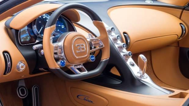 Inside The NZ$4 Million Bugatti Chiron.