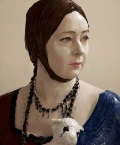 Julia Holden's Lady with Ermine (Miranda Parkes, after Elizabeth Peyton)