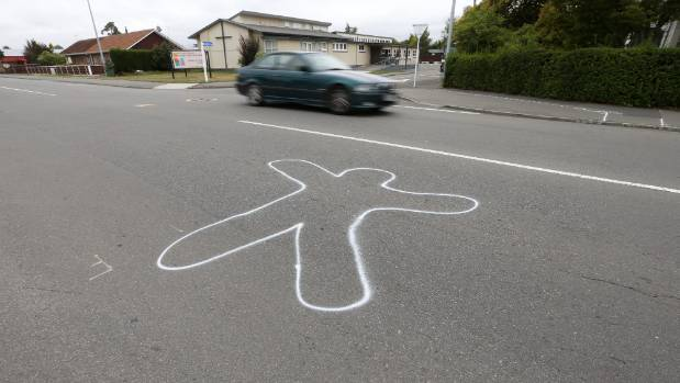 A strange figure has appeared at the Beaver Rd and High St intersection in Blenheim.