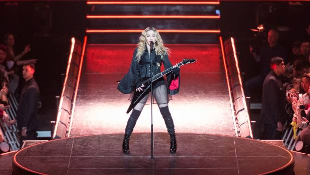 Madonna is set to take to the stage at Auckland's Vector Arena on Saturday March 5.