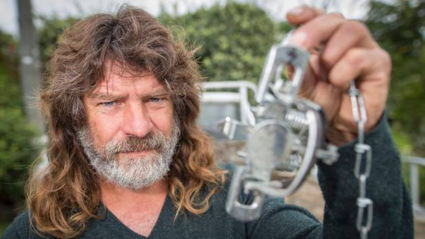 Napier man Clayton Freeman was stunned the Conservation Department took him to court for trapping possums