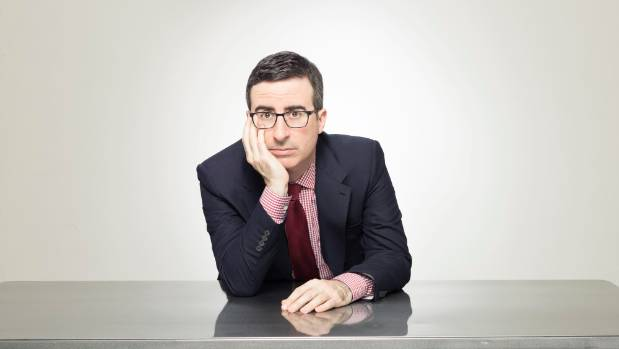 John Oliver says John Key makes great television.