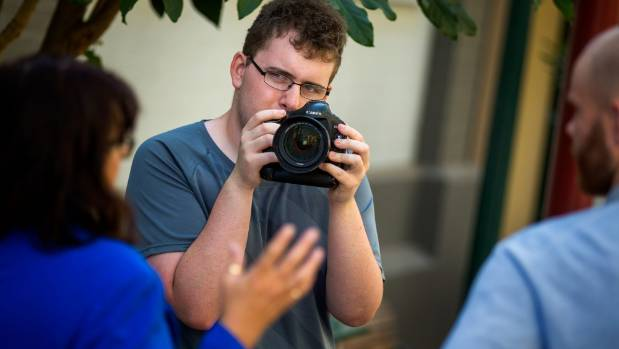 CPIT-Aoraki student Jerry Westaway has Aspergers Syndrome but that does not stop him making films.