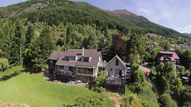 Queenstown lodges in receivership sale despite hot tourism for Evergreen landscapes christchurch