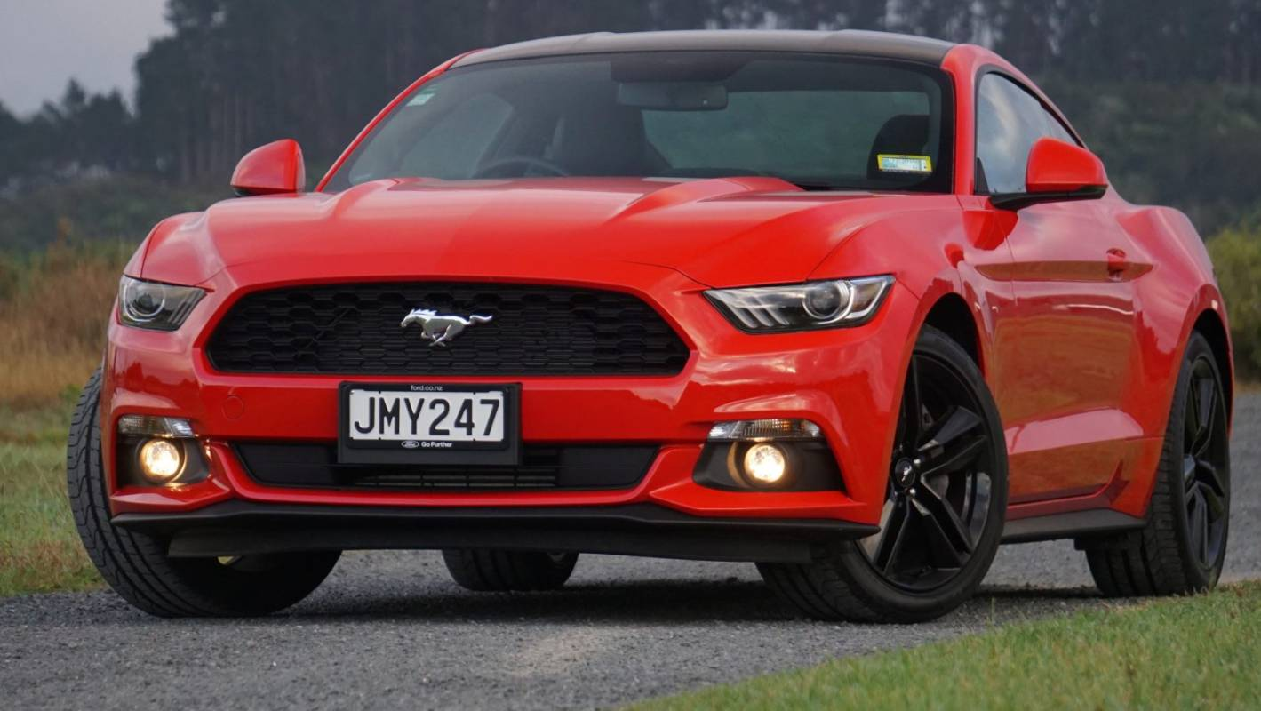 Can a real Ford Mustang have a four-cylinder engine?