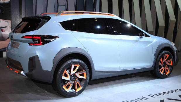 Subaru Xv Concept Revealed