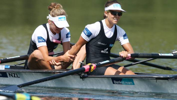 f14d3a36bc Sophie MacKenzie and Julia Edward have won the past two women's lightweight  double scull gold medals