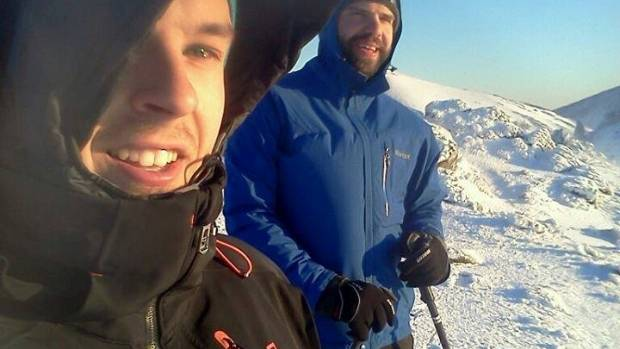 Louis-Vincent Lessard, left, and Etienne Lemieux died in Fiordland National Park when an avalanche swept them away on ...