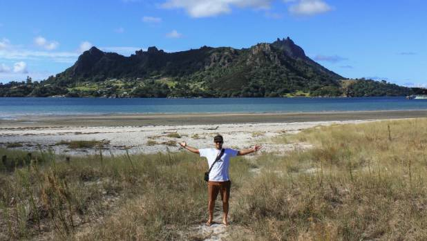 "Sustainable Coastlines general manager Camden Howitt hopes the charity's volunteer projects give tourists an ""awesome ..."