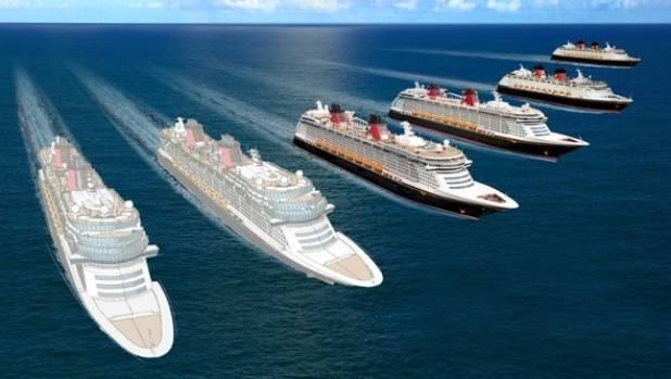 Disney announced their brand new Cruise Line concepts on Thursday.