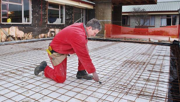Steel mesh is common reinforcement product in concrete slabs and driveways.