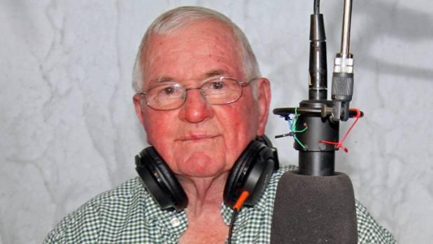 Hutt Radio volunteer John Regan in the station's studio at Naenae.