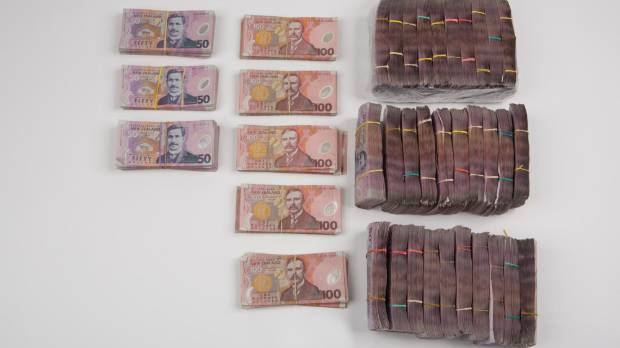 A huge haul of methamphetamine has been seized at the border.
