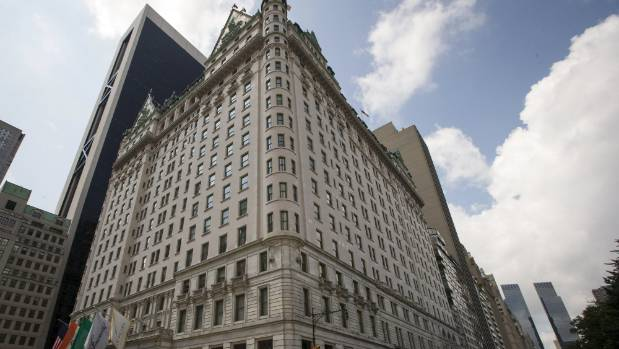 The Plaza Hotel is in midtown Manhattan in New York.