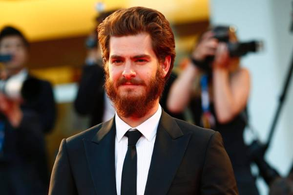 Sorry, Spiderman - Andrew Garfield can't quite pull off a beard.