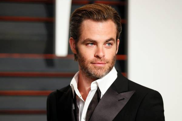 A well-groomed and well-played style by Chris Pine.