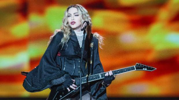 Madonna is in Auckland to perform her Rebel Heart Tour at Vector Arena.
