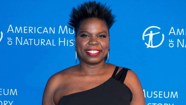 Actress Leslie Jones says there's nothing wrong with her playing a Ghostbuster, or a transit worker.