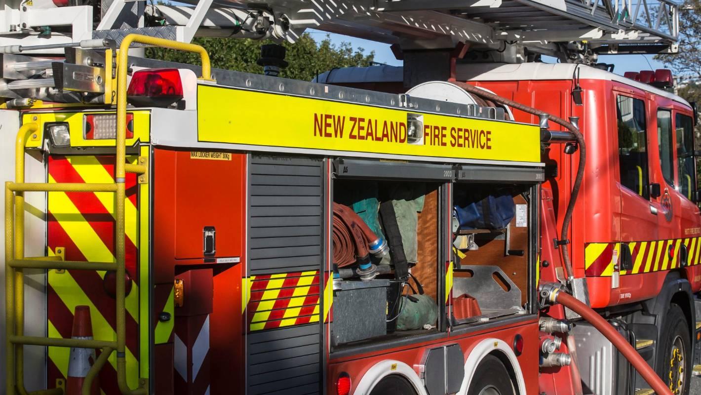 Four Motueka volunteer firefighters injured after truck rolled on