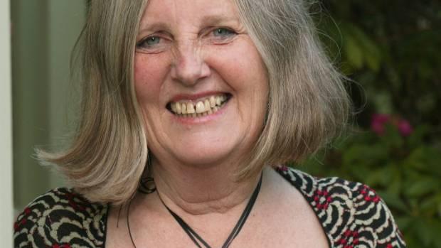 Non-fiction finalist Fiona Farrell.