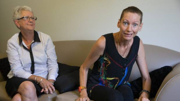 Huntington's sufferer, Rachel Rypma, wants the right to end her own life. Rachel with her mother, Denise Forbes.