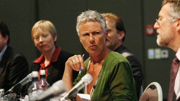 RNZ journalist Kim Hill repeatedly asked Anne Tolley how many victims she had talked to.