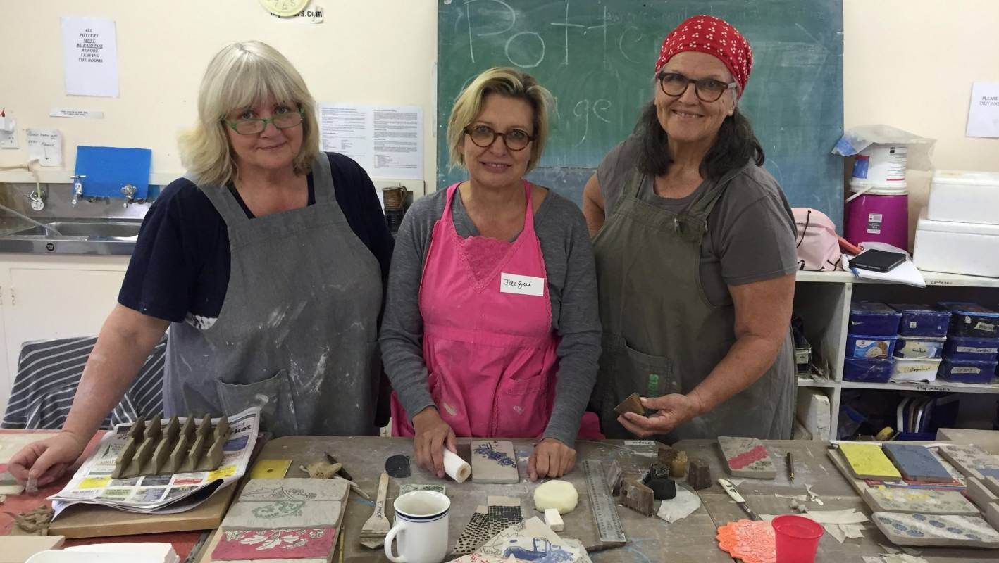 Australian potter delivering 'life changing' workshop in Timaru