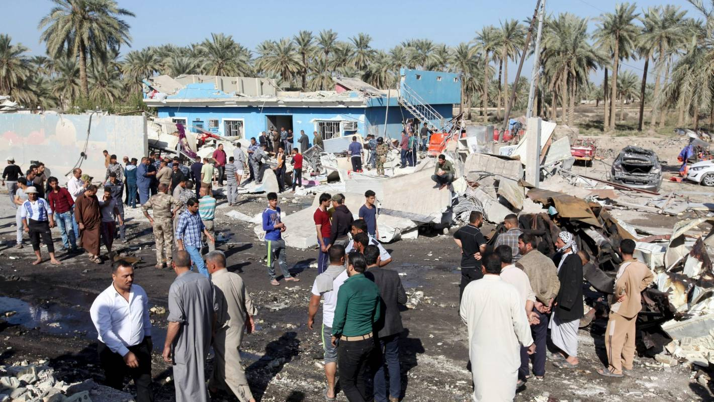 Islamic State claims suicide bombing of Iraqi soccer stadium; 41 dead