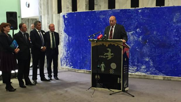 Te Aupouri runanga chairman Rick Witana was invited to speak at the announcement of the Kermadec bill's introduction to ...