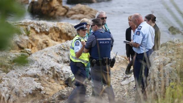 A woman died while scuba diving near Island Bay beach in Wellington.