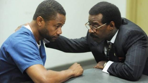 Cuba Gooding Jr (left) as OJ Simpson and Courtney B Vance as Johnnie Cochran in The People v OJ Simpson.