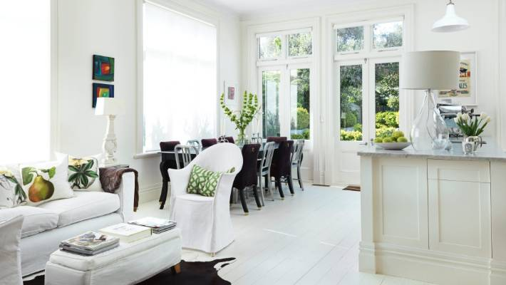 Decorating With White A Designer S Clever Wellington Renovation Stuff Co Nz