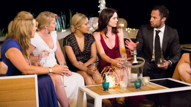 Season two's bachelor Jordan Mauger sits with last year's contestants. Stuff has obtained the contracts they signed.