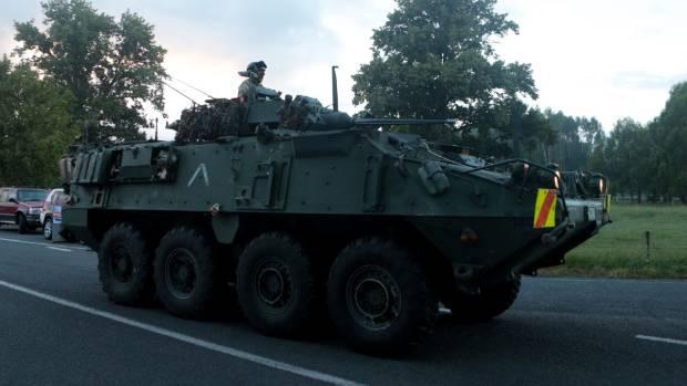 The siege, near Kawerau in 2016, lasted 22 hours.